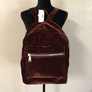 Aimee Kestenberg woodside velvet backpack